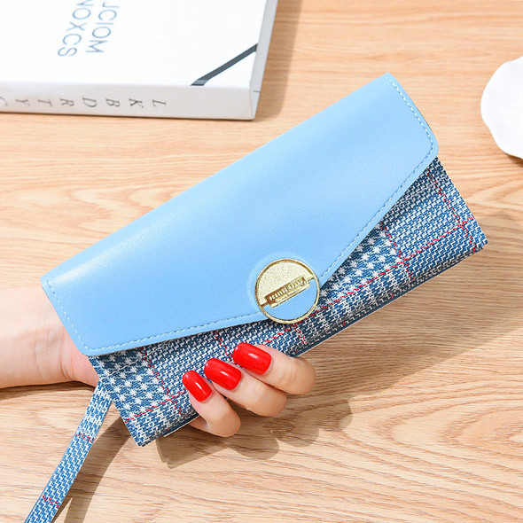 Women's Business Purse Card/Cash/Mobile Phone Leather Handbag Large Capacity Ladies Clutch Coin Women's Wallet
