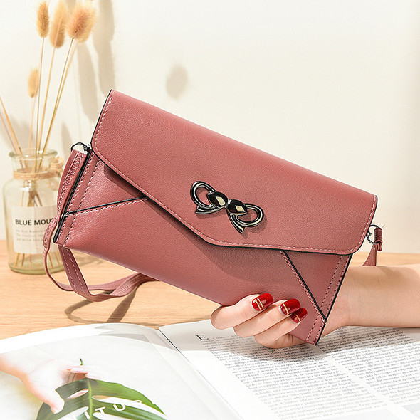 Women's Purse Card Cash Mobile Phone Leather Handbag Large Capacity Ladies One Shoulder Clutch Bags