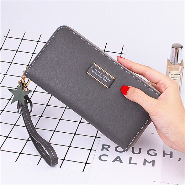 Women's Purse Multi-function Card/Cash/Mobile Phone Leather Handbag Large Capacity Ladies Hand Holding Clutch Bags