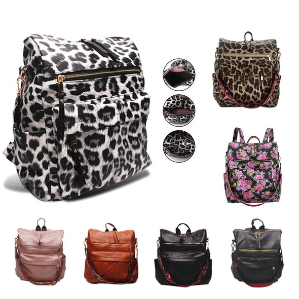 Wholesale women leather backpacks