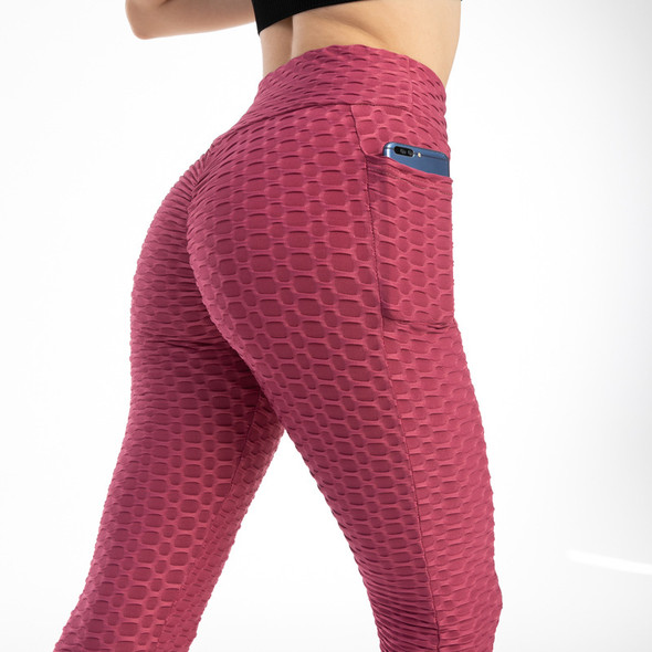 women's rose leggings workout yoga pants with cell phone pocket