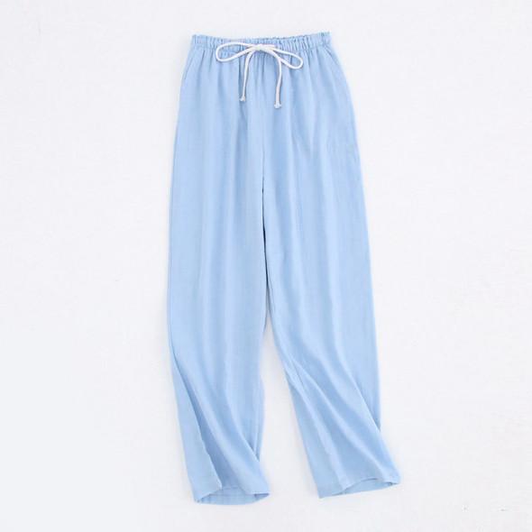 Cotton Sleep Pants Ladies Home Tie Pajama Pant Woman Pajama Bottoms