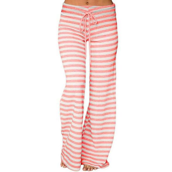Womens Striped High Waisted Palace Yoga Pants