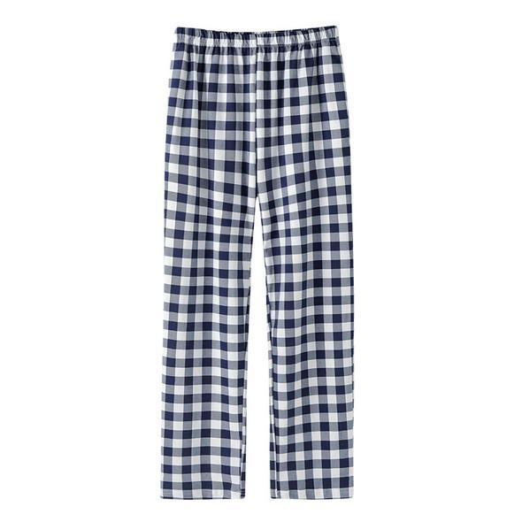 Womens Pajamas Cotton Lattice Casual Home Pants
