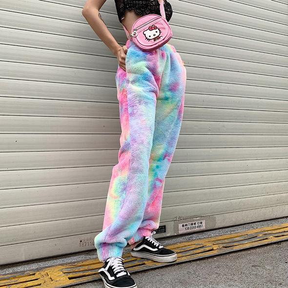 Women Lounge Sleep Pajama Bottoms Fleece Trousers Night Wear Long Pants