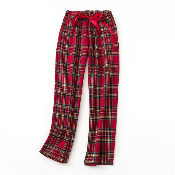 Womens Sleep Bottoms Checked Comfortable Pajama