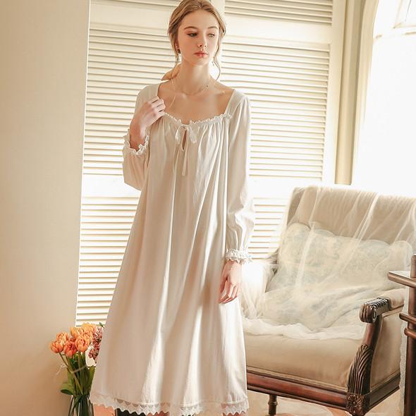 Womens Nightdress Loose Princess Nightgowns