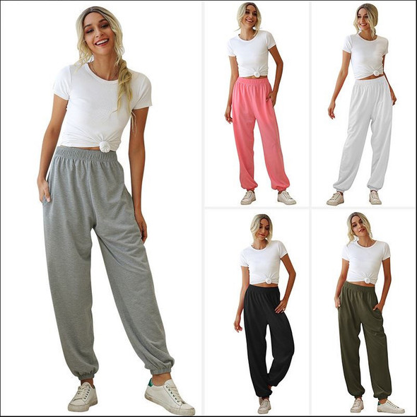 Womens Lightweight Casual Sports Basic Sweatpants