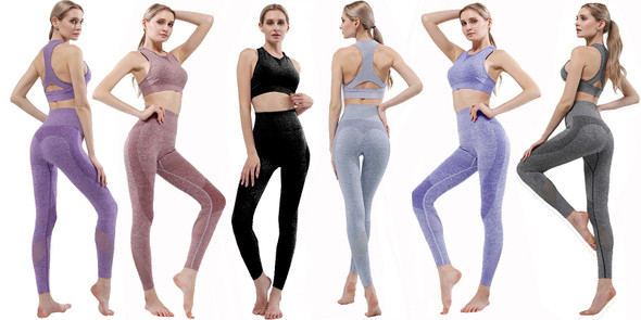 New Design Sports Seamless Quick-drying Women's Yoga Suit