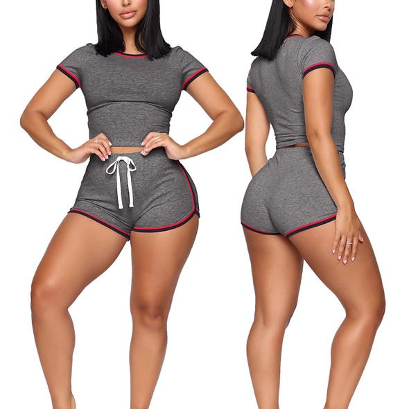 Fashion Summer Sports Set Women Short sportswear