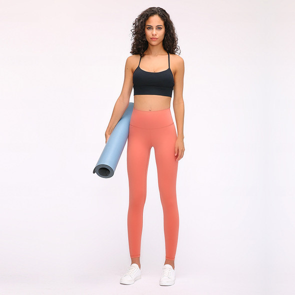 High-waist Hip-lifting Running Stretch Yoga Pants