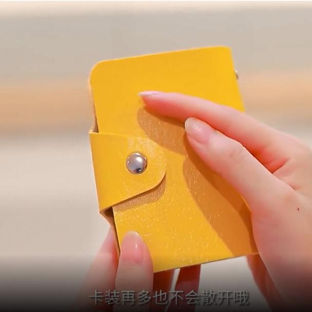 girl women's apparel accessorie card organizer case