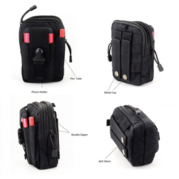 Exduct EP02 Multi-Purpose Tool Holder EDC Pouch Mobile Bag Military Nylon Tactical Pouch