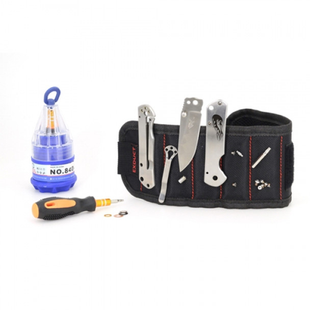 Exduct Tool Belt Magnetic Wristband with Strong Magnets for Holding Screws Nails Drill Bits