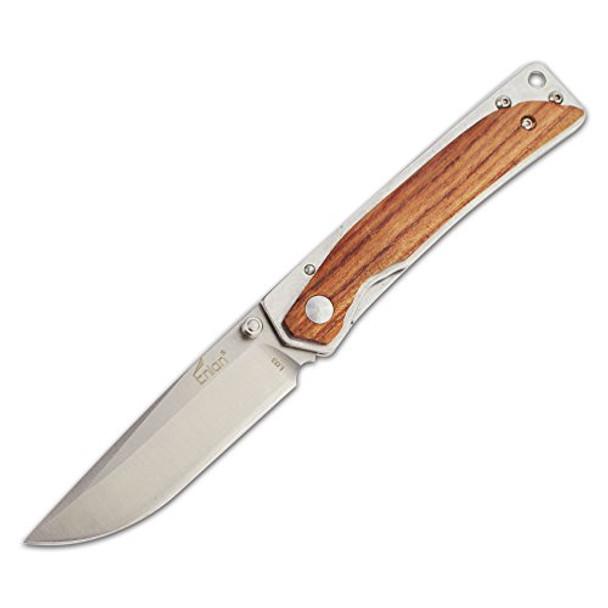 Enlan BEE L03-2 Tactical Folding Knife 8cr13mov Edge Steel Rosewood Handle EDC Pocket Folding Knives