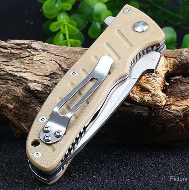 Enlan Folding knives EL01KH G10 Handle 8Cr13 57HRC Tactical Knife EDC Survival Camping Hunting Pocket Multi Hand Tools
