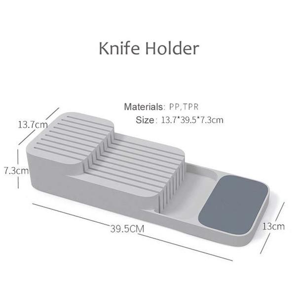 Drawer Organizer Tray Spoon Cutlery Separation Finishing Storage Box Cutlery Organizer Kitchen Knife Holder Accessories
