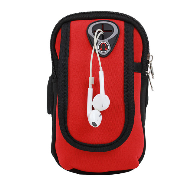 Multi-function Outdoor Large Capacity Clutch Arm Pack Running/Exercise/Riding Arm Bag Coin Mobile Phone Purse Bag for Outdoor Sports