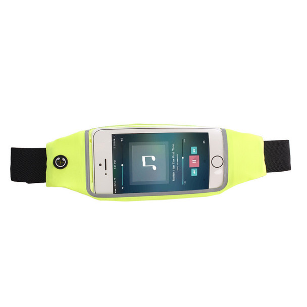 Multi-function Outdoor Large Capacity Clutch Waterproof Waist Pack Running Waist Bag Mobile Phone Touch Screen Bags