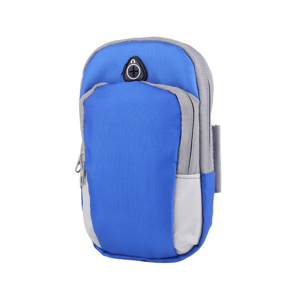 Multi-function Outdoor Large Capacity Nylon Cloth Clutch Arm Pack Running/Riding Arm Bag Mobile Phone Holder for Outdoor Sports