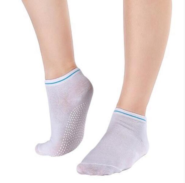 Yoga Socks Non Slip Massage Ankle Women Pilates Fitness Colorful Toe Durable Dance Grip Exercise Printed Gym Dance Sport socks