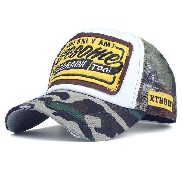 Summer Baseball Cap Embroidery Mesh Cap Hats For Men Women Snapback Gorras Hombre hats Casual Hip Hop Caps Dad Casquette
