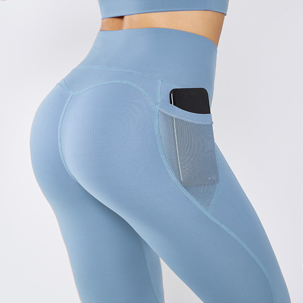 yoga pants with side pockets for women
