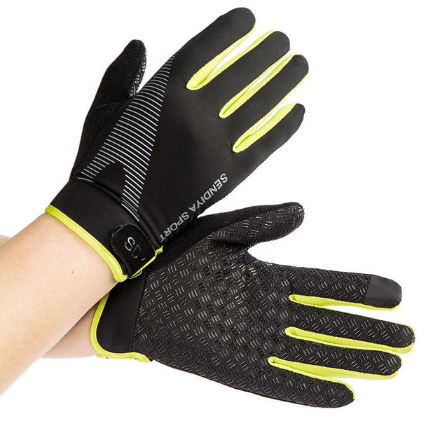 black green gym workout gloves