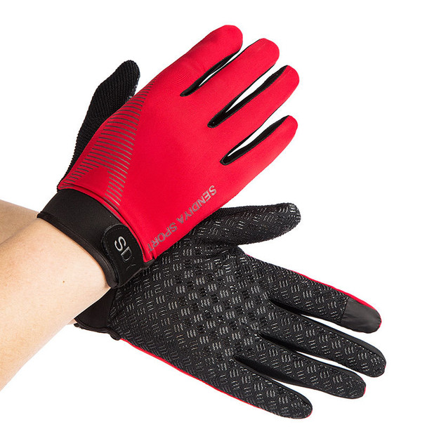 red black gym gloves for men women