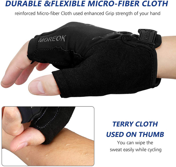 comfortable fit finger mountain bike gloves