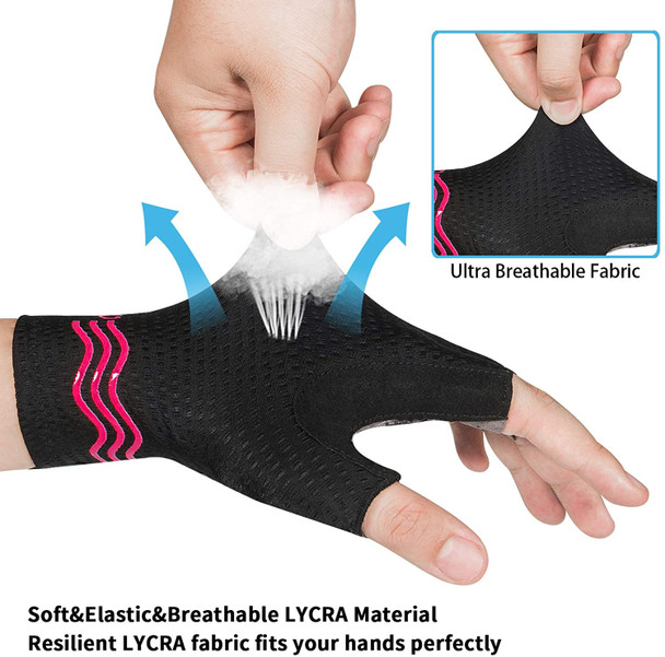 soft elastic lycra fabric fits bicycling gloves