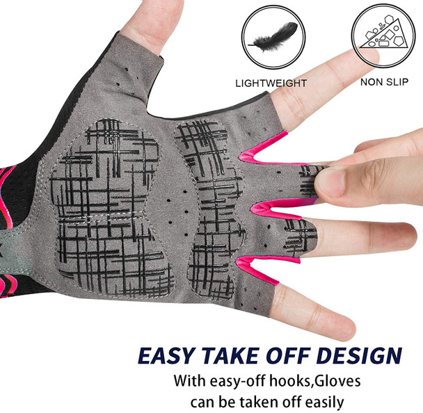 lightweight non slip road bicycle gloves