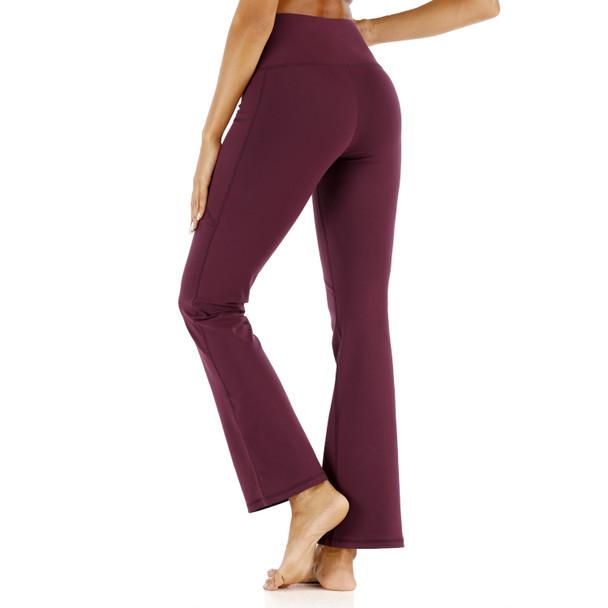tall yoga pants with back pockets