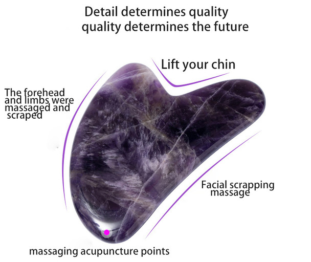 amethyst skin scraper tools