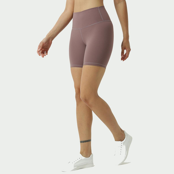 Solid Color High Waist Sports Gym Wear Leggings Elastic Fitness Yoga Tights Workout Fitness Shorts