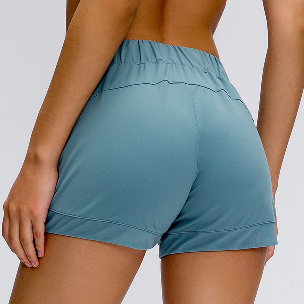 Tummy Control Yoga Shorts Capris for Women with Phone Pockets Workout Running Sports Shorts with Pockets