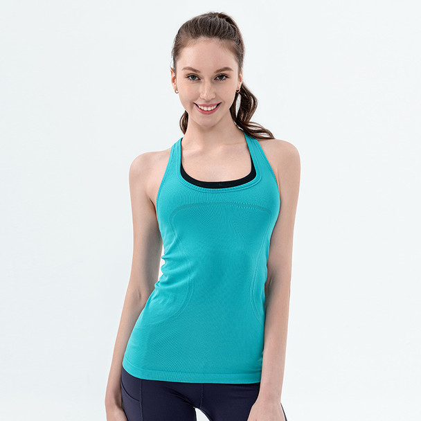 Sexy Women Yoga Vest T-shirt Quick-dry Exercise Sports Fitness Tank Top Yoga Running Gym Jogging Vest Tops