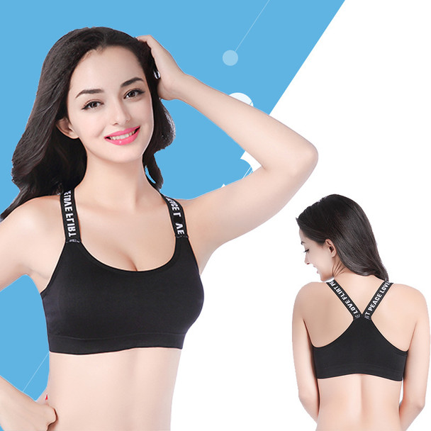 Sexy Women Sports Bra Tops High Impact For Gym Fitness Yoga Running Female Pad Sportswear Tank Tops Sports Push Up Bras