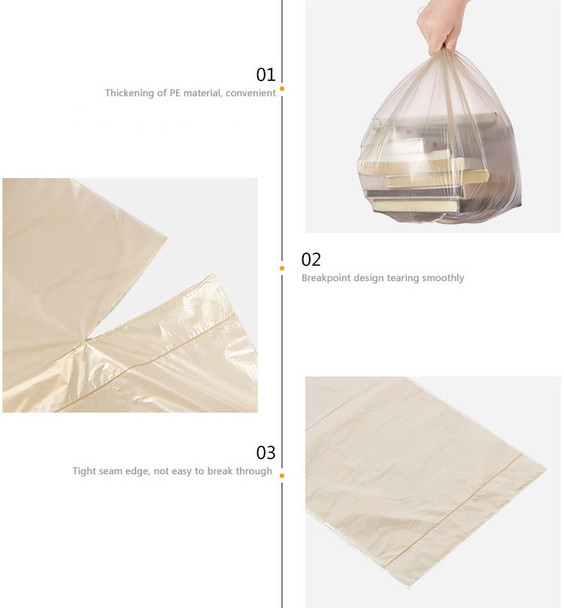 Biodegradable Garbage Bags Disposable 4 Gallon Trash Bags