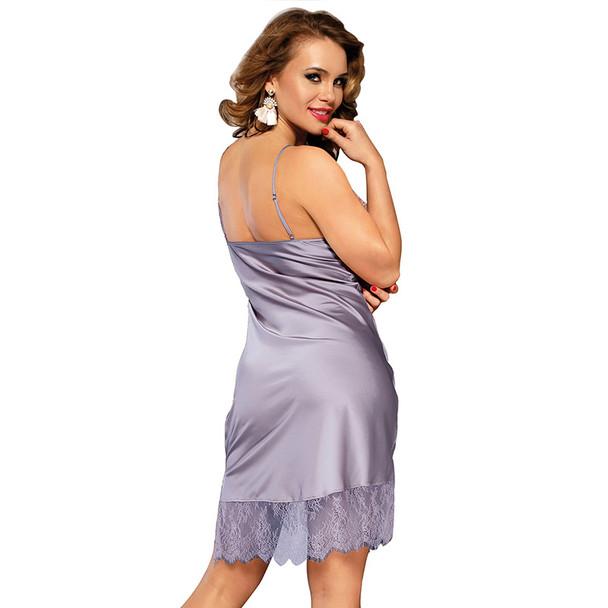 Womens Sling Sexy Lace Imitation Silk Home Wear Pajamas