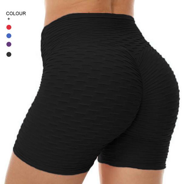 Sexy Jacquard Pants Women Yoga Shorts