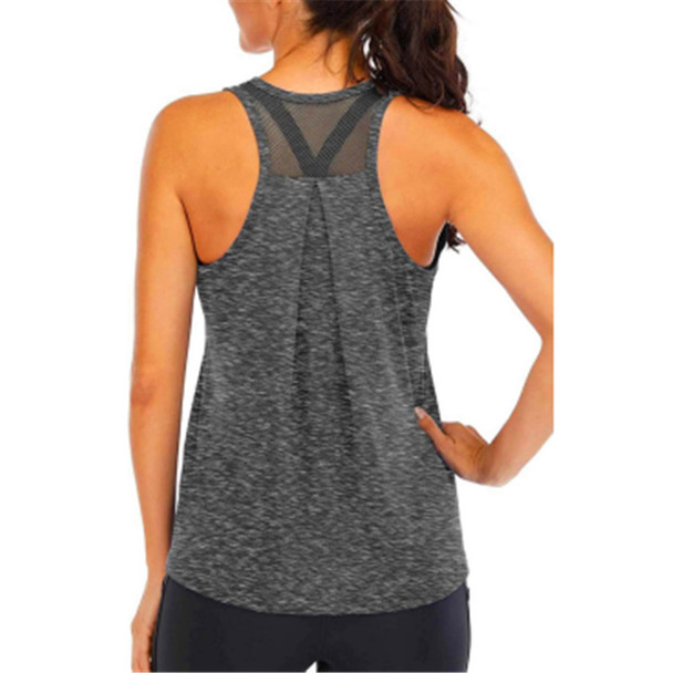 Cationic Yoga Vest Women's Quick-drying T-shirt