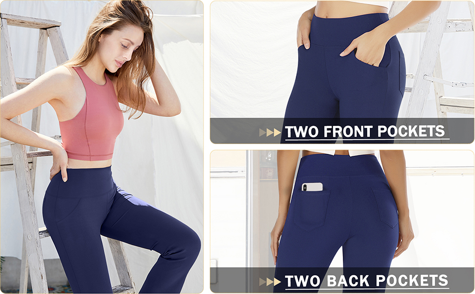 yoga pants with 4 pockets