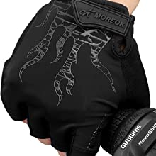 lycra bicycle gloves