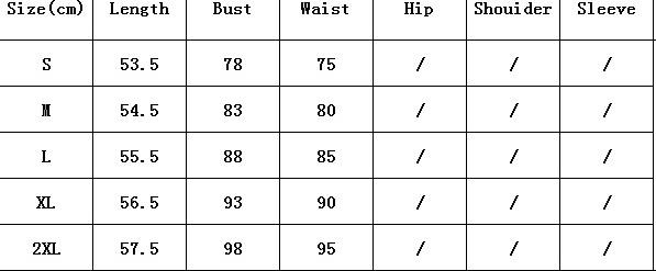 Womens lace size chart k33