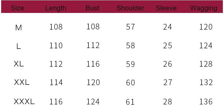 Womens lingerie sleepwear size chart k80