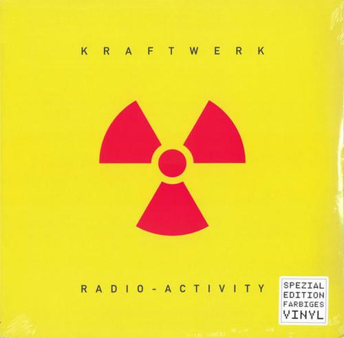 "Kraftwerk ""Radio Activity"" YELLOW LP"
