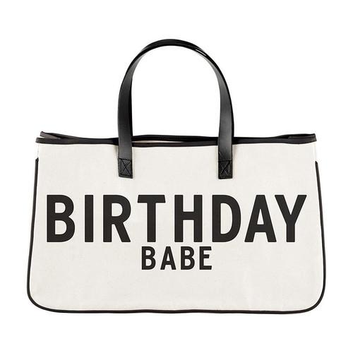 Canvas Tote - Birthday Babe