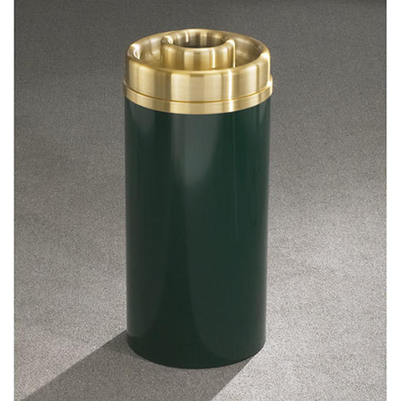 Glaro Mount Everest Steel Ash & Trash - Brass Top