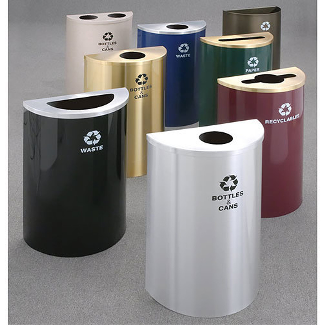 Glaro RecyclePro Profile Recycling Bins